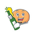 with beer mochi mascot cartoon style vector image