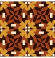 Brown seamless pattern made from man figures vector image