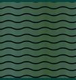 art deco wave pattern vector image vector image