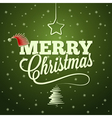 holiday merry christmas new year vector image vector image