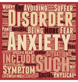 How Is Your Anxiety Today text background