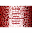 red blood cells erythrocytes vector image vector image