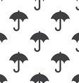 umbrella seamless pattern vector image vector image