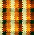 zigzag lines orange seamless pattern vector image