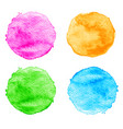watercolor splatter vector image