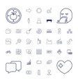37 web icons vector image vector image