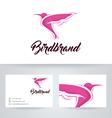 Bird Brand vector image vector image