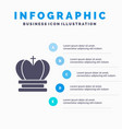 crown king royal empire solid icon infographics 5