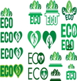 eco1 resize vector image vector image
