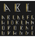 letter i with alphabet vector image vector image