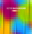 Multi Coloured Mosaic Background vector image vector image
