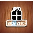 toys kids design vector image vector image