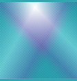 turquoise blue glowing background vector image vector image