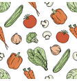 vegetarian background paleo diet nutrition vector image