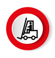 warning forklift trucks and other industrial vector image vector image