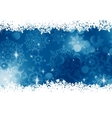 Blue Christmas Background EPS 8 vector image