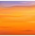 Blurred backgrounds Sunset sunrise vector image