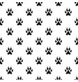 cat paw pattern vector image vector image