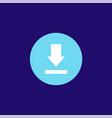 download icon logo design vector image vector image