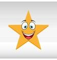emoticon face design vector image vector image