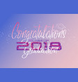 graduation label text for graduation vector image vector image