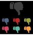 Hand icon Unlike vector image