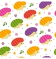 Lovely childish designs in vector image vector image