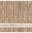 Realistic wood seamless texture vector image vector image