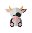 a cow vector image