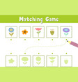 Find correct shadow matching game with cute
