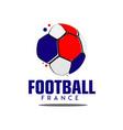 football france logo template design vector image vector image