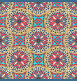 mandala texture in bright colors abstract vector image