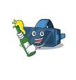 mascot cartoon design vr virtual reality vector image vector image