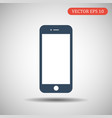 phone icon blue color eps 10 vector image vector image