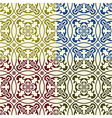 Seamless Eastern Patterns vector image vector image