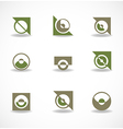 Set of elements for design vector image vector image