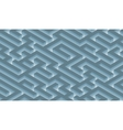 The maze labyrinth - endless vector image