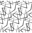 Abstract seamless white background of black vector image vector image