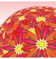 flower bunch vector image vector image