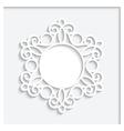 Paper Vignette vector image vector image