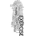 your eyes needs exercise too text word cloud vector image vector image