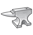anvil vector image