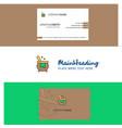 Beautiful cooking pot logo and business card