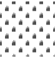 Bullets pattern simple style vector image vector image