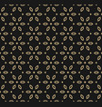 geometric gold and black seamless luxury pattern vector image vector image