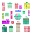 gift box on a white background vector image