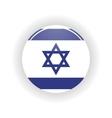 Israel icon circle vector image