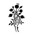 magic tree vector image vector image