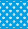 metal heater pattern seamless blue vector image vector image