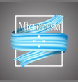 micronesia flagofficial national micronesian 3d vector image vector image